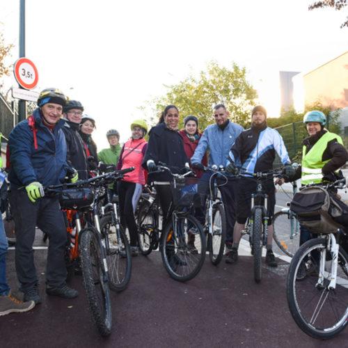 1ère promenade de travail du Comité Vélo