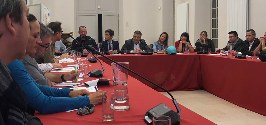 1ère réunion du Comité Vélo