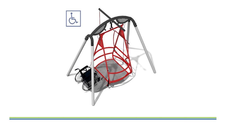 PROJET 2 : Installation d'une balançoire pour enfants en situation de handicap
